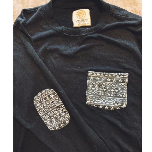American Exchange Other - Patterned Crew Neck